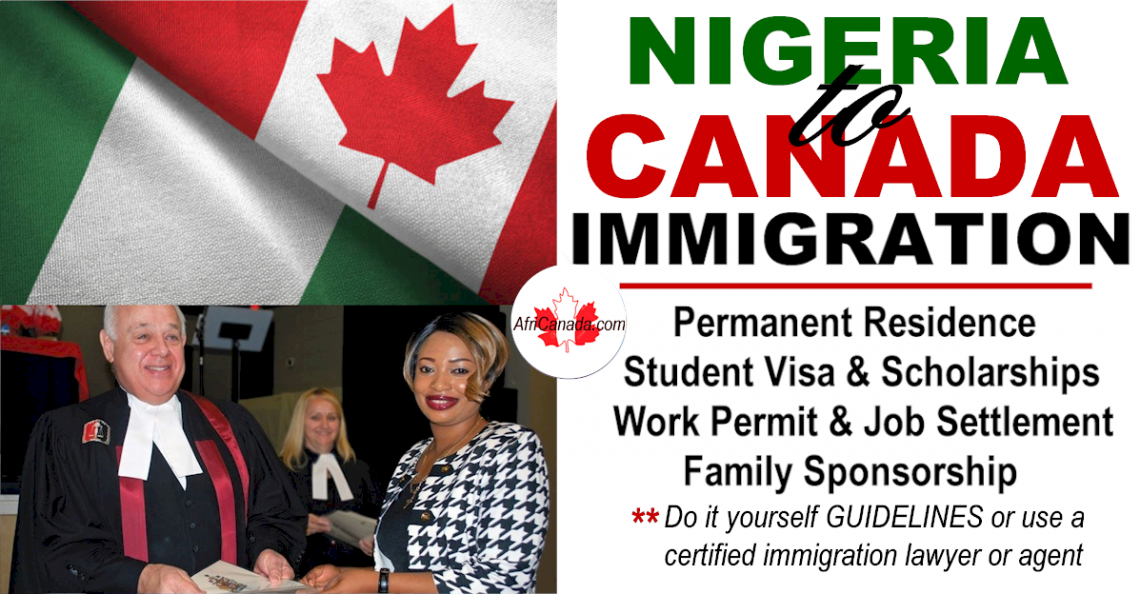 immigrate from nigeria to canada