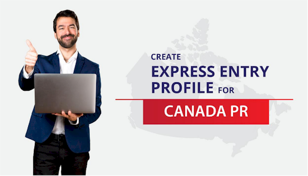 create express entry profile