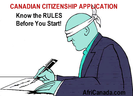 Canadian citizenship requirements - AfriCanada Immigration Inc