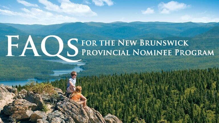 nb provincial nominee programs