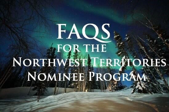 nwt provincial nominee programs