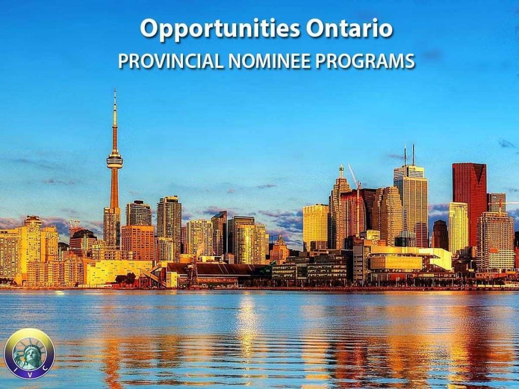ontario immigrant provincial nominee programs