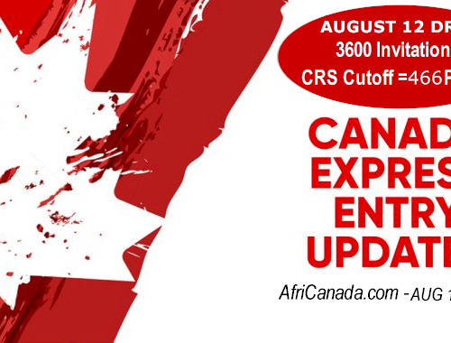 August 12 Express Entry Draw #123
