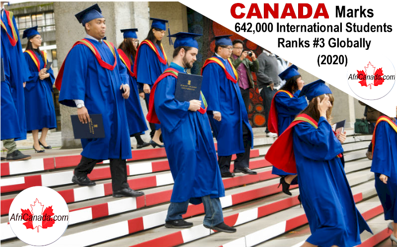 canada has 642000 international students