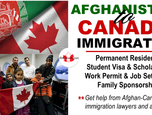 immigrate from afghanistan to canada