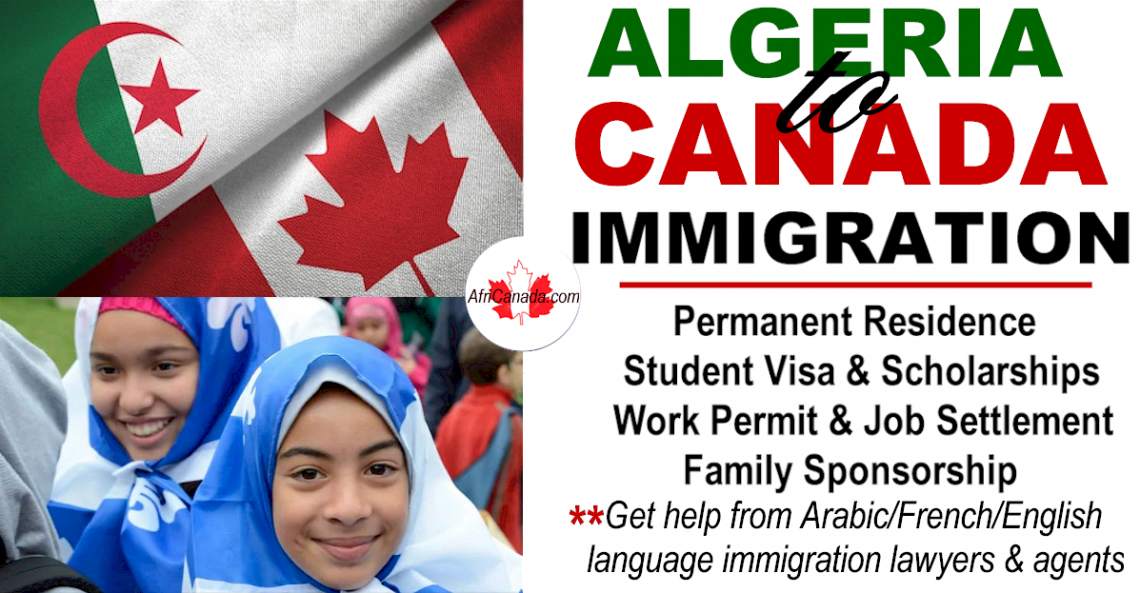 immigrate from Algeria to canada