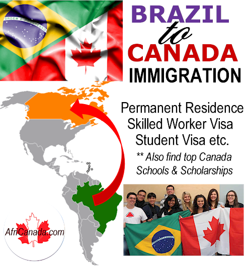 brazil to canada immigration