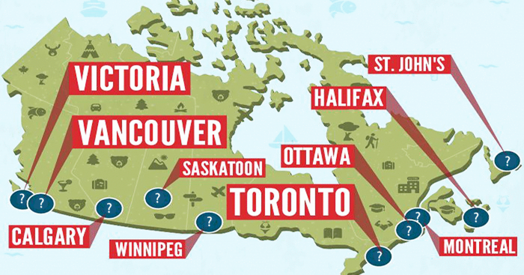 where to live in canada