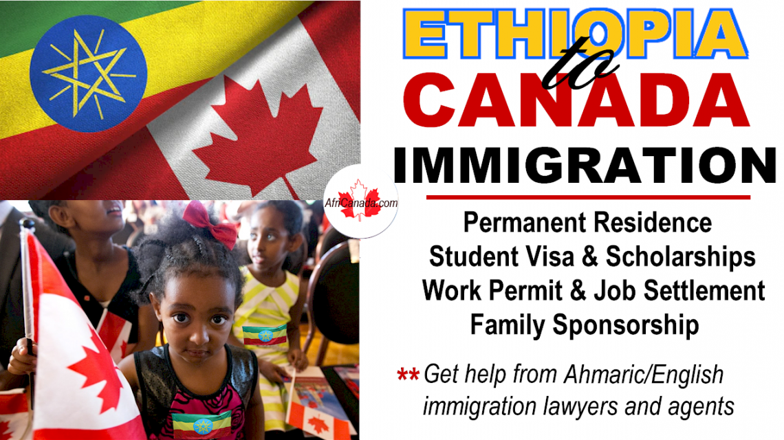 immigrate from ethiopia to canada
