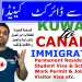 kuwait to canada immigration