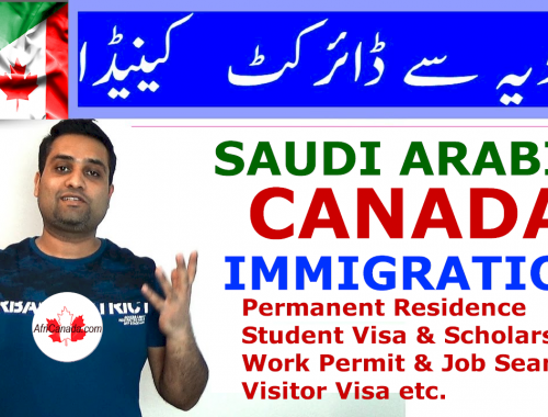 Saudi to Canada Immigration