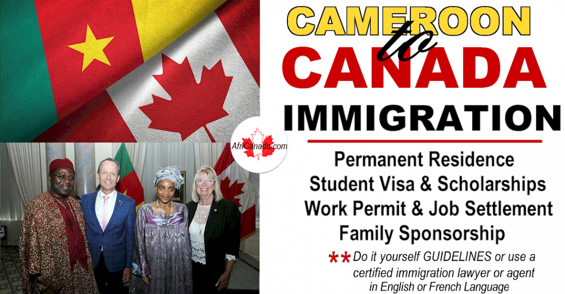 how to immigrate from cameroon to canada