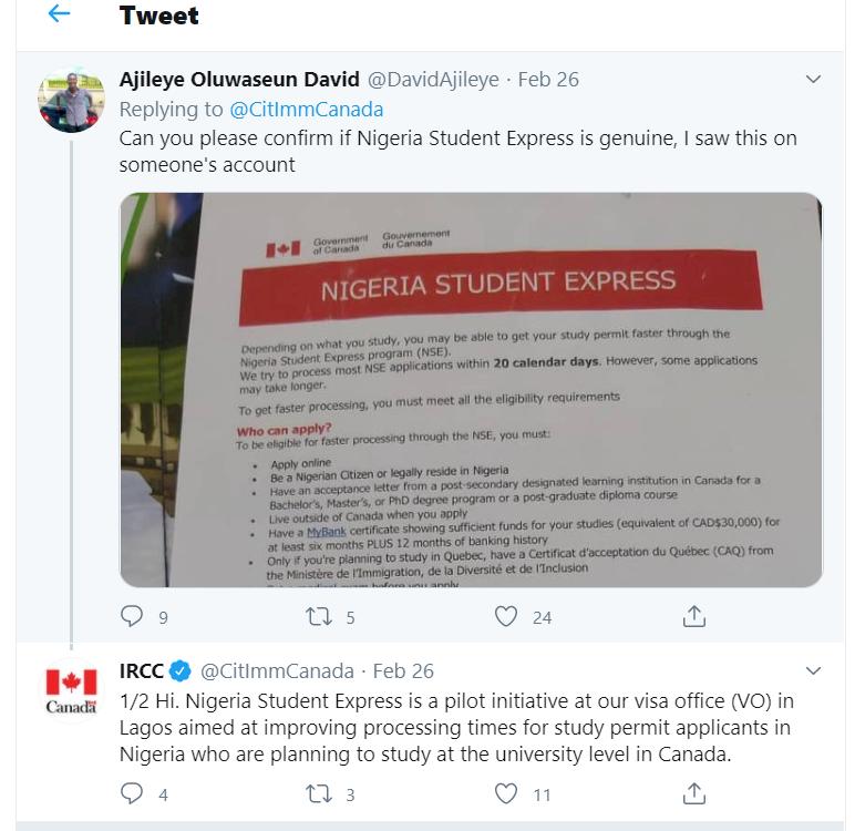 nigeria student express