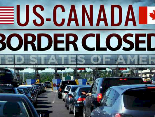 canada-us border closure