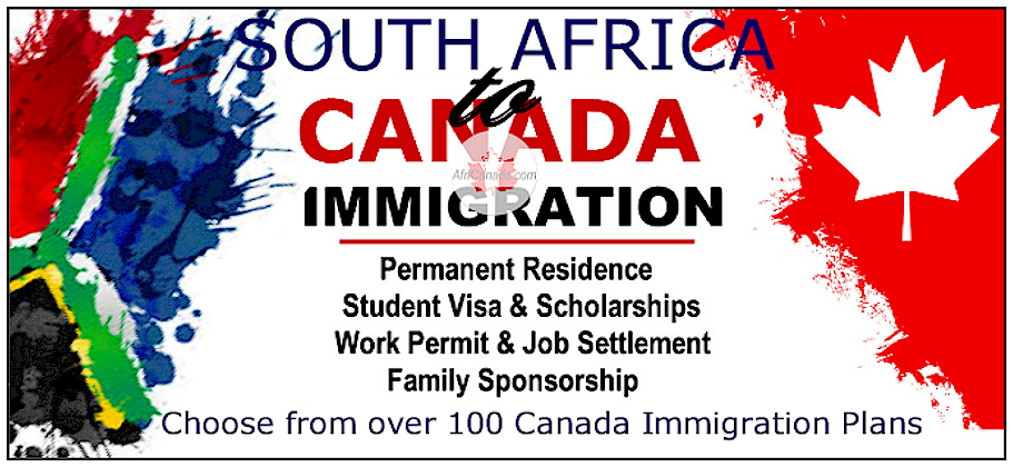 Immigrate to Canada from South Africa @AfriCanada.com