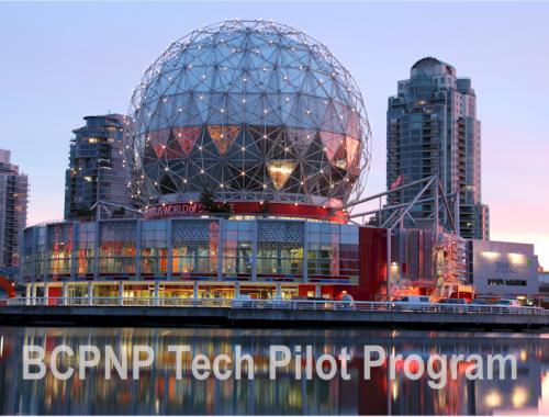 December 15 BCPNP Tech Pilot