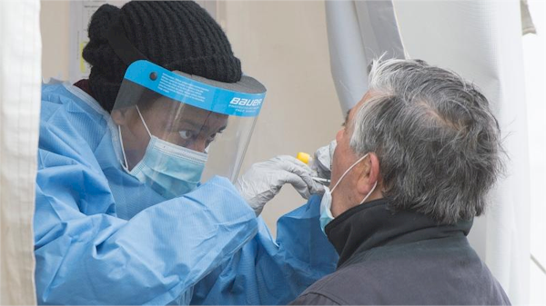 refugees working in healthcare