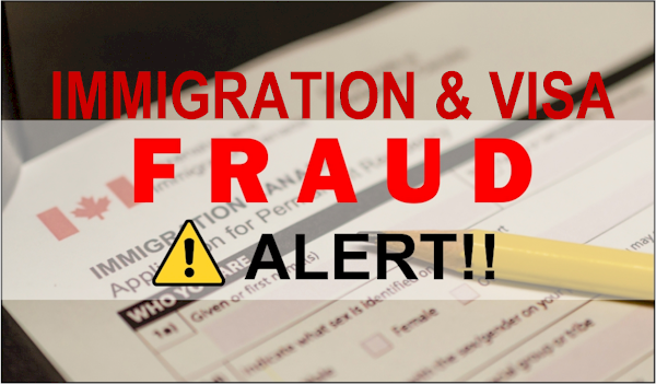 canada immigration fraud alert