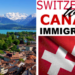 Immigrate to Canada from Switzerland @AfriCanada.com