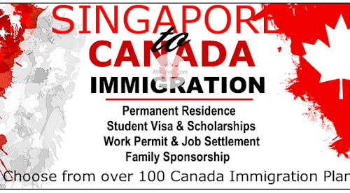 Immigrate to Canada from Singapore @AfriCanada.com
