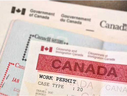 canadian work permit questions