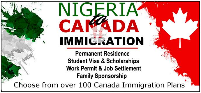Immigrate to Canada from Nigeria @AfriCanada.com