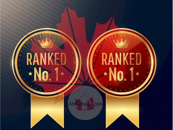 Canada is No. 1 Country