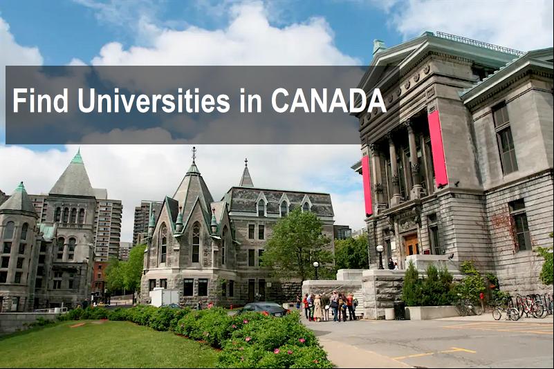 Find universities in Canada @AfriCanada.com