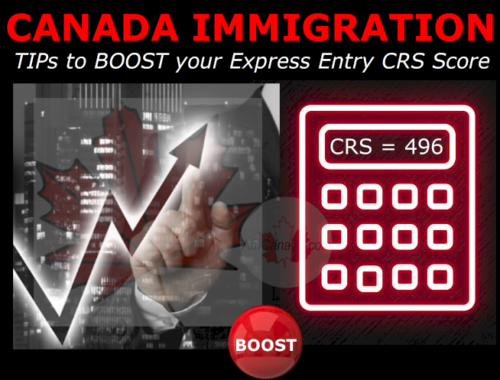 Boost your CRS points @AfriCanada.com