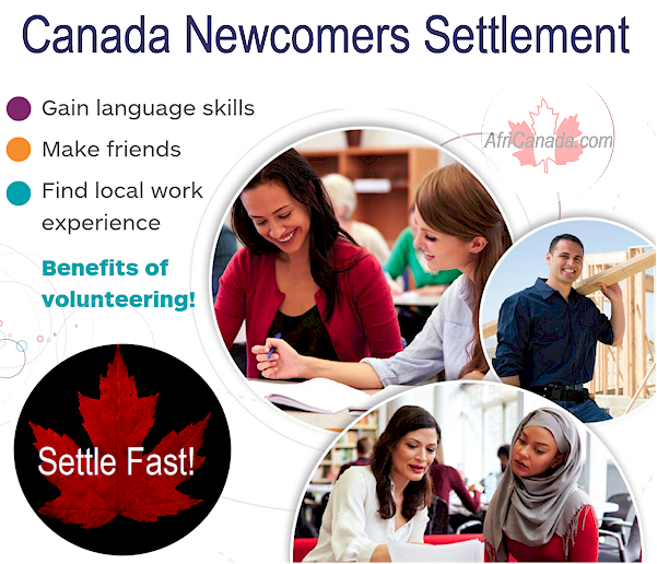 Canada newcomers settlement services @AfriCanada.com